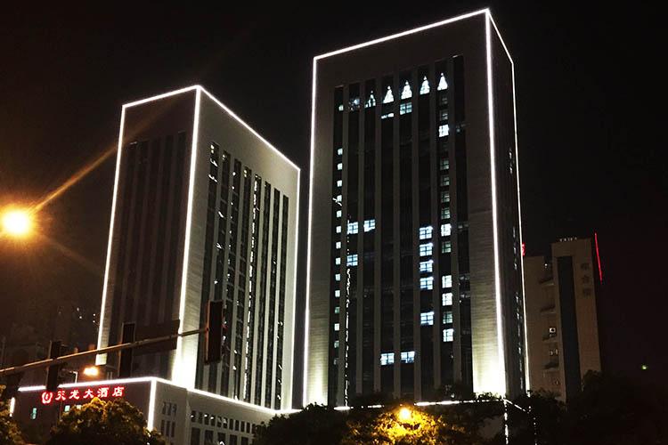 天龙酒店亮化照明