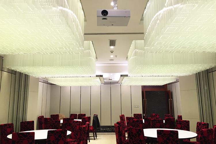 宴会厅水晶灯具定制