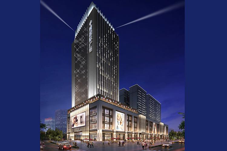 中府国际建筑亮化
