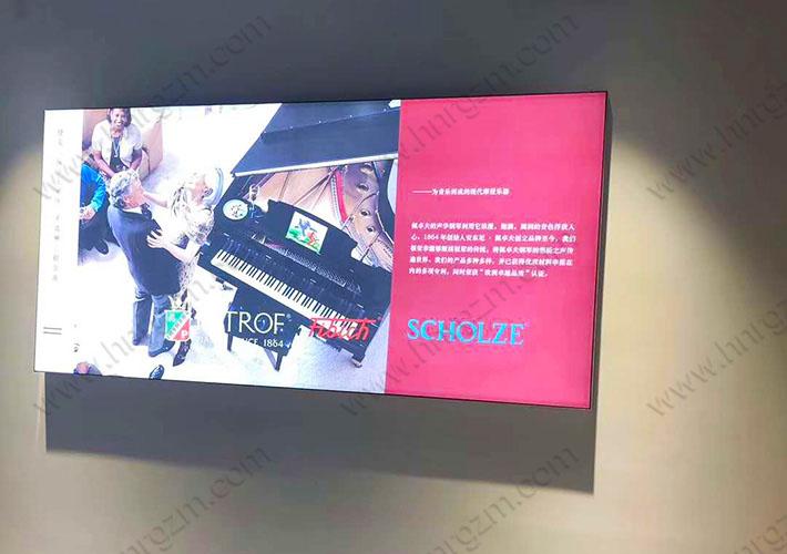 长沙LED软膜灯箱 卡布灯箱定制 室内广告灯箱