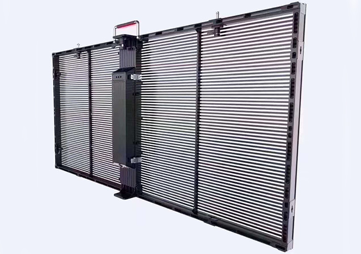 长沙LED显示屏 LED透明屏 橱窗透明显示屏