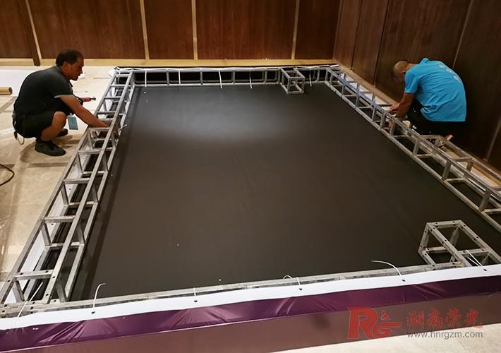 长沙桁架搭建 活动广告制作 展会布置 酒店会议背景布置