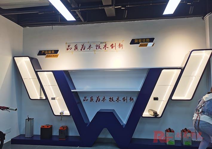 室内广告展示墙设计,展厅布置 烤漆展柜制作加工